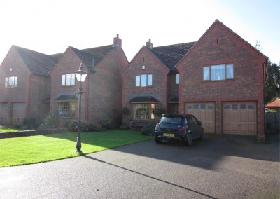 2 new 5 bedroom houses Bridgwater, Somerset.